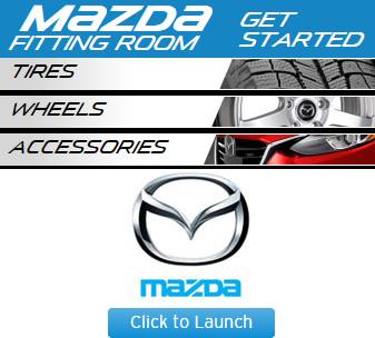 Mazda Tire Fitting Room