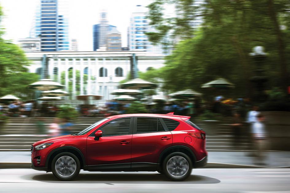 2016 Mazda CX-5 performance