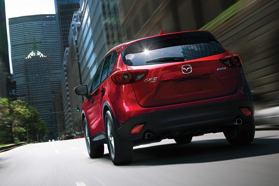 2016 Mazda CX-5 rear
