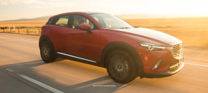 2016 Mazda CX-3 driving