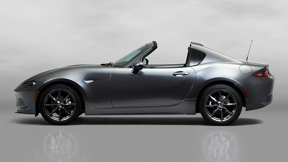 2016 Mazda MX-5 RF profile top down