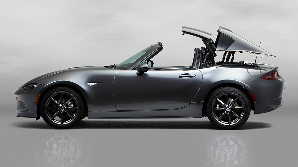 2016 Mazda MX-5 RF retracting