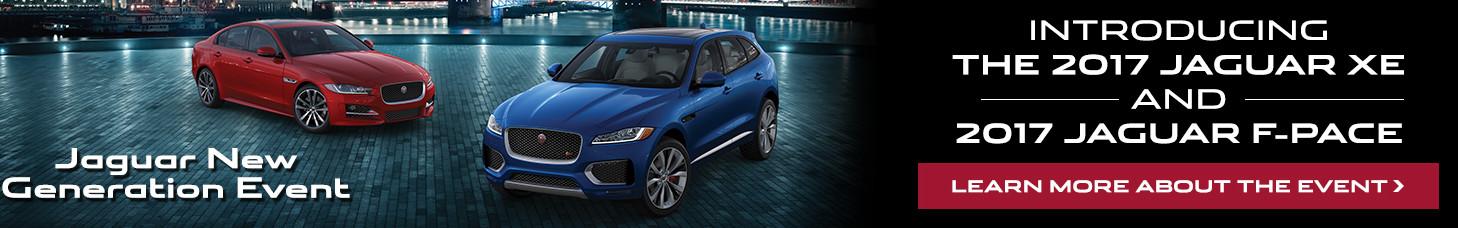 Jaguar New Generation Event Banner