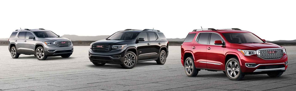 Learn More About The 2017 Gmc Acadia Trim Levels