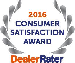 DealerRater - 2016 Consumer Satisfaction Award