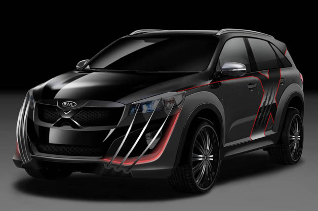 Kia's Special X-Men Edition Sorento