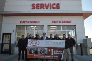Lawrence Kia Award Winning Technicians