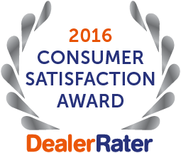 Best Kia Dealership - DealerRater Award 2016