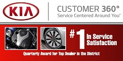 Kia # 1 in Service Satisfaction
