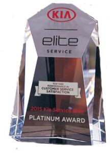 Lawrence Kia Service Award Elite