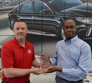 Lawrence Kia Wins Elite Service Award