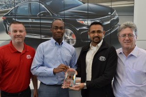 Lawrence Kia Number 1 in Customer Service
