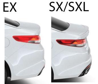2016 Kia Optima EX vs SX/SXL