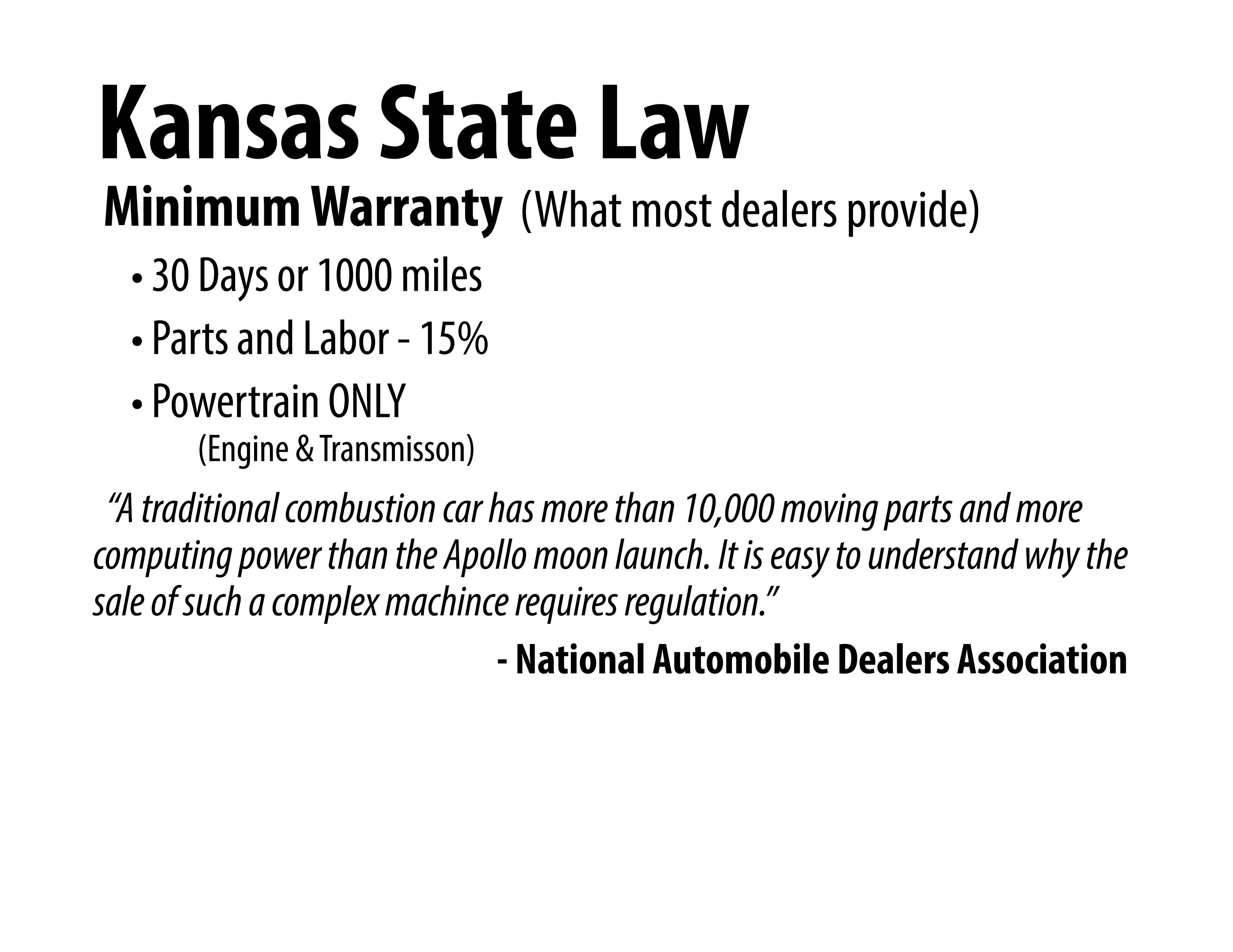 Kansas State Law