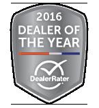 DealerRater - 2016 Dealer of the Year