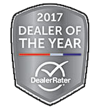 DealerRater - 2017 Dealer of the Year