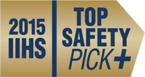2015 IIHS Top Safety Pick