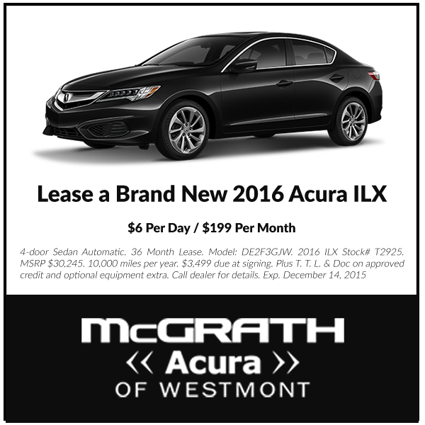 Acura Rdx Lease: McGrath Acura Of Westmont