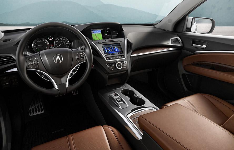 2017 Acura MDX Interior Dash