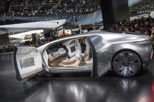 The Mercedes-Benz F015, Self-Driving Luxury