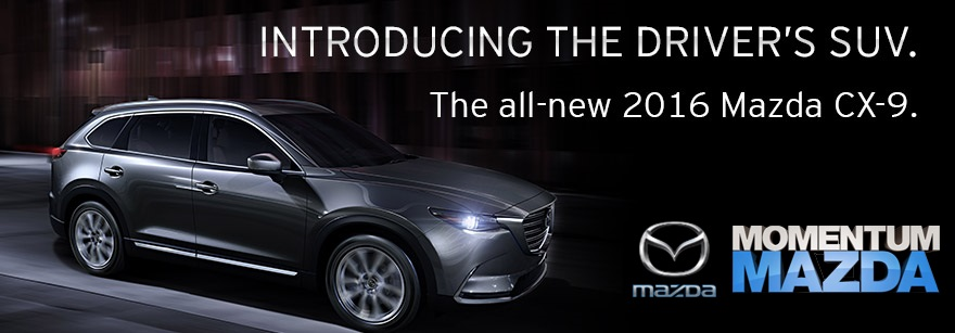 Introducing the All-New 2016 Mazda CX-9 - Available Now at Momentum Mazda Near Charlotte NC
