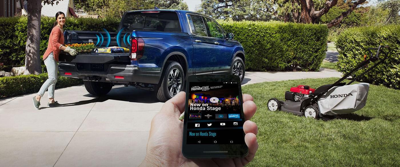 Honda Ridgeline Truck Bed Stereo