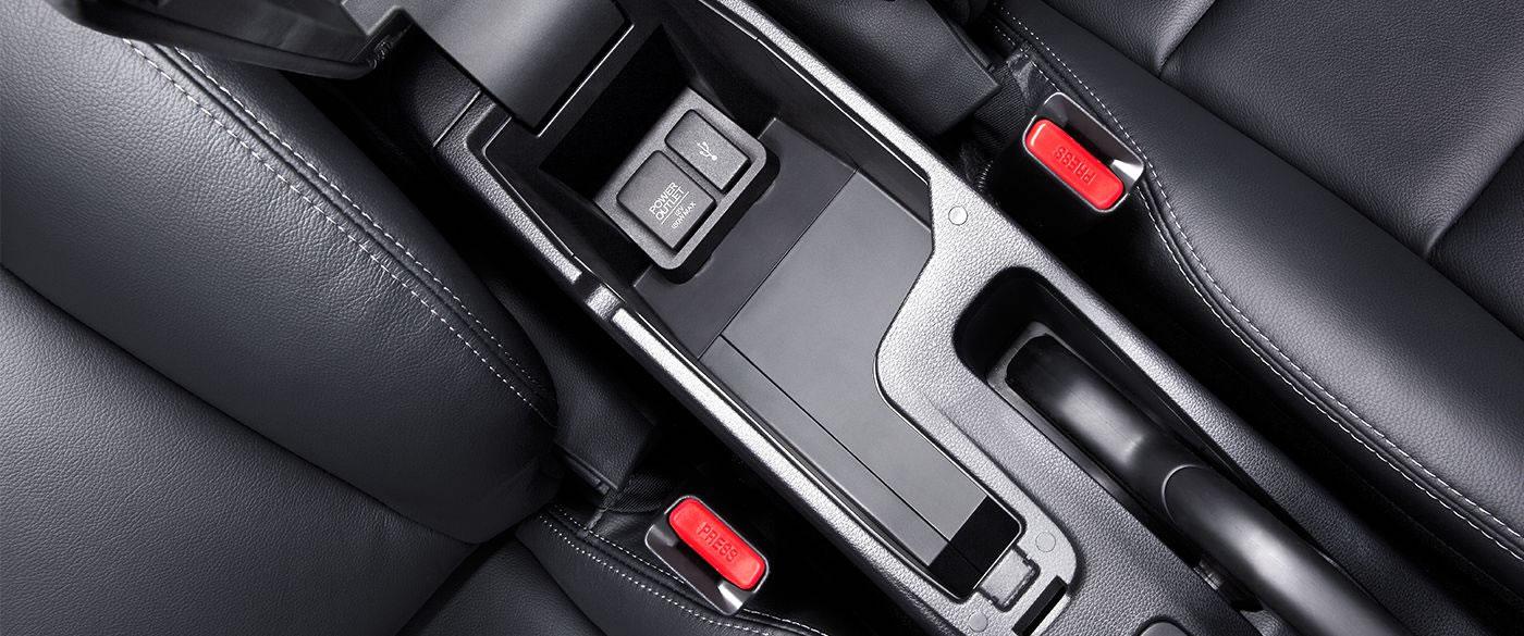 Honda Fit Center Console