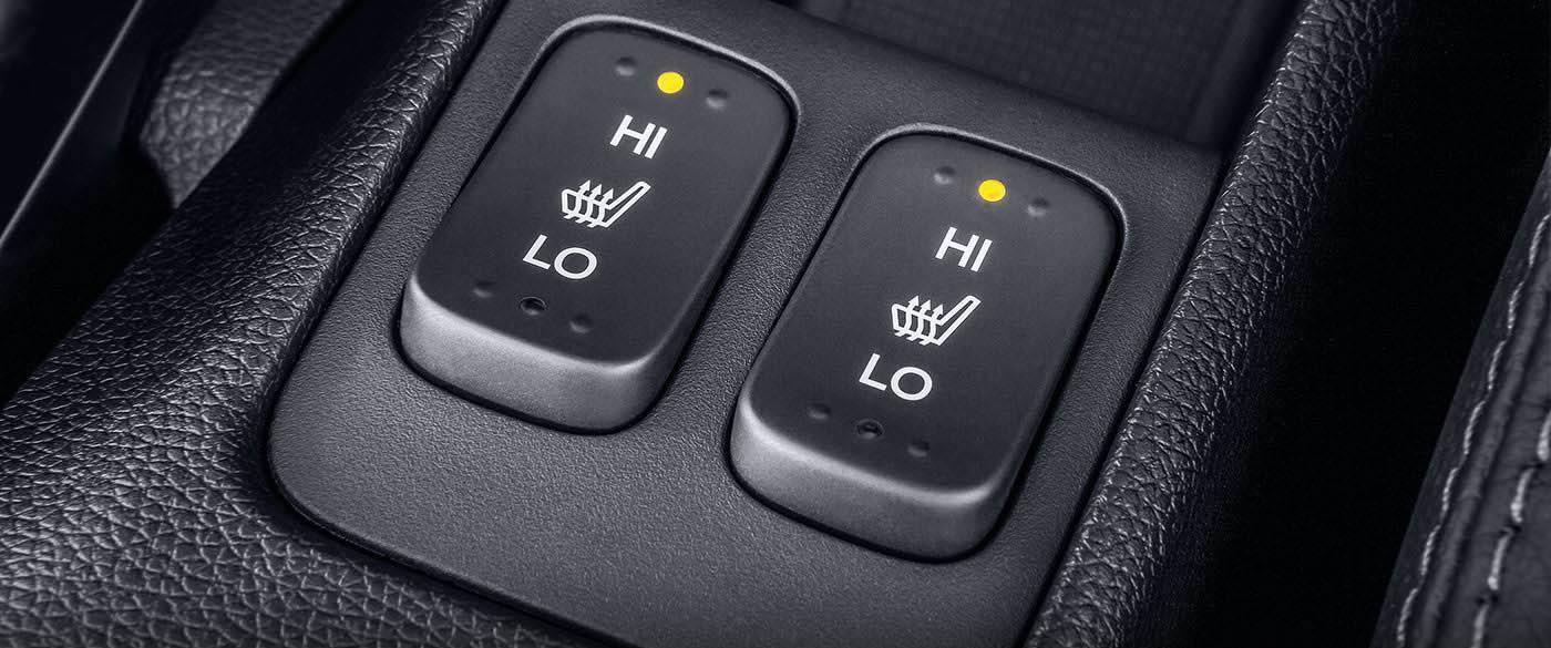 Honda Fit Heated Seats