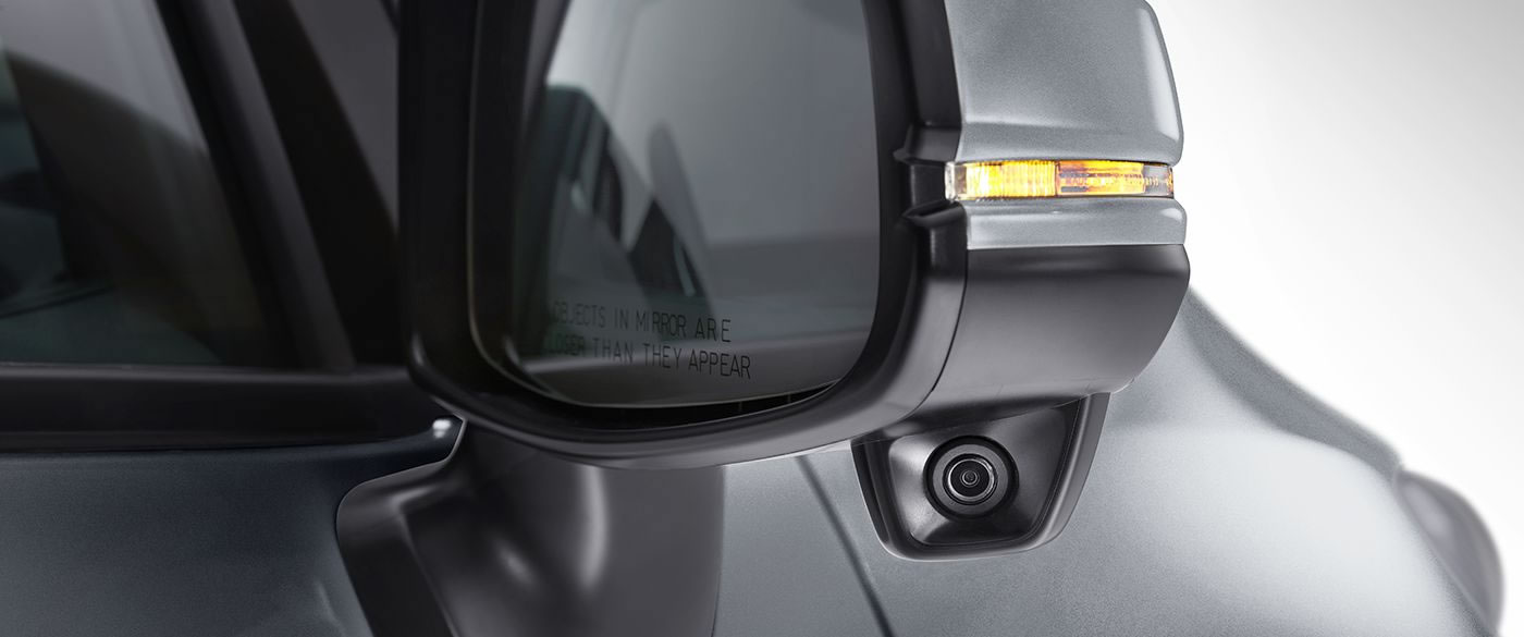 Honda Fit rearview mirror with lanewatch camera