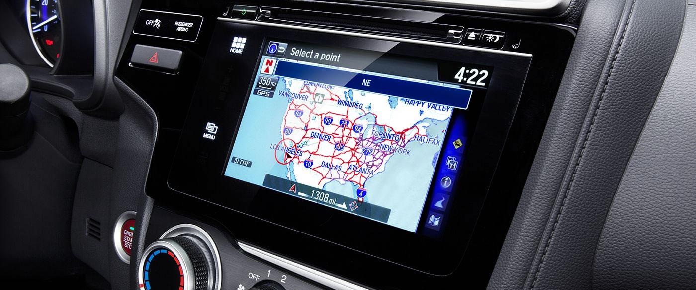 Honda Fit Navigation