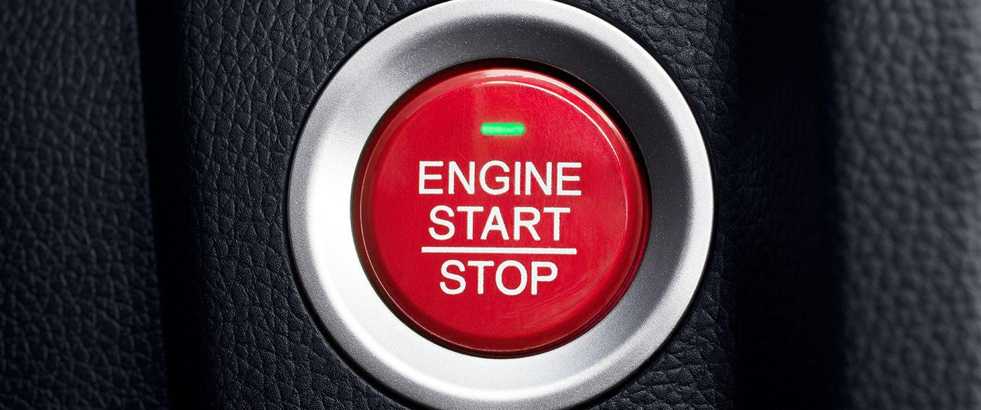 Honda Fit Push Start Button