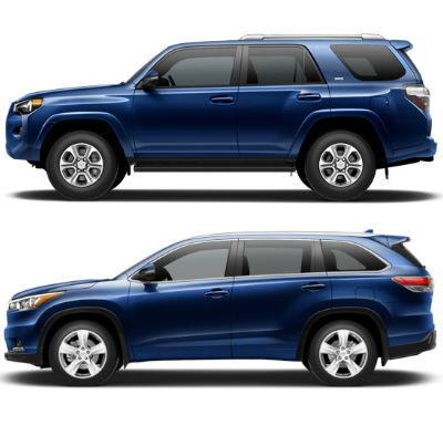 Toyota Highlander Vs Toyota 4Runner >> Toyota 4runner Vs Highlander Have Different Qualities To