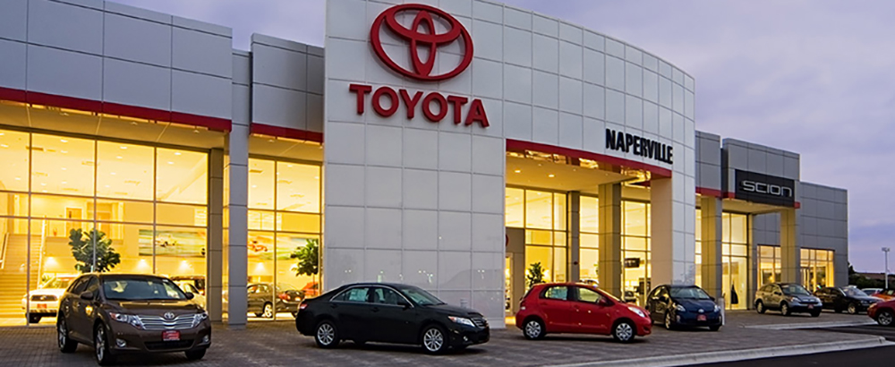Toyota Of Naperville Banner