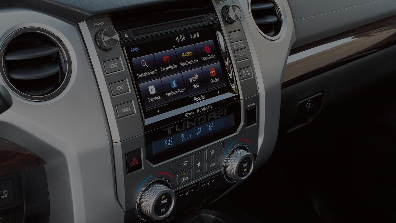 2017 Toyota Tundra infotainment