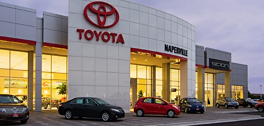 Toyota of Naperville Dealership