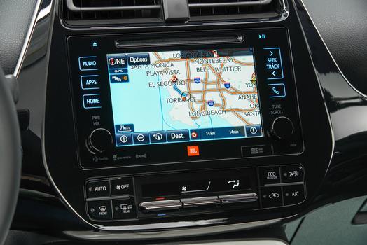 2016 Toyota Prius touchscreen