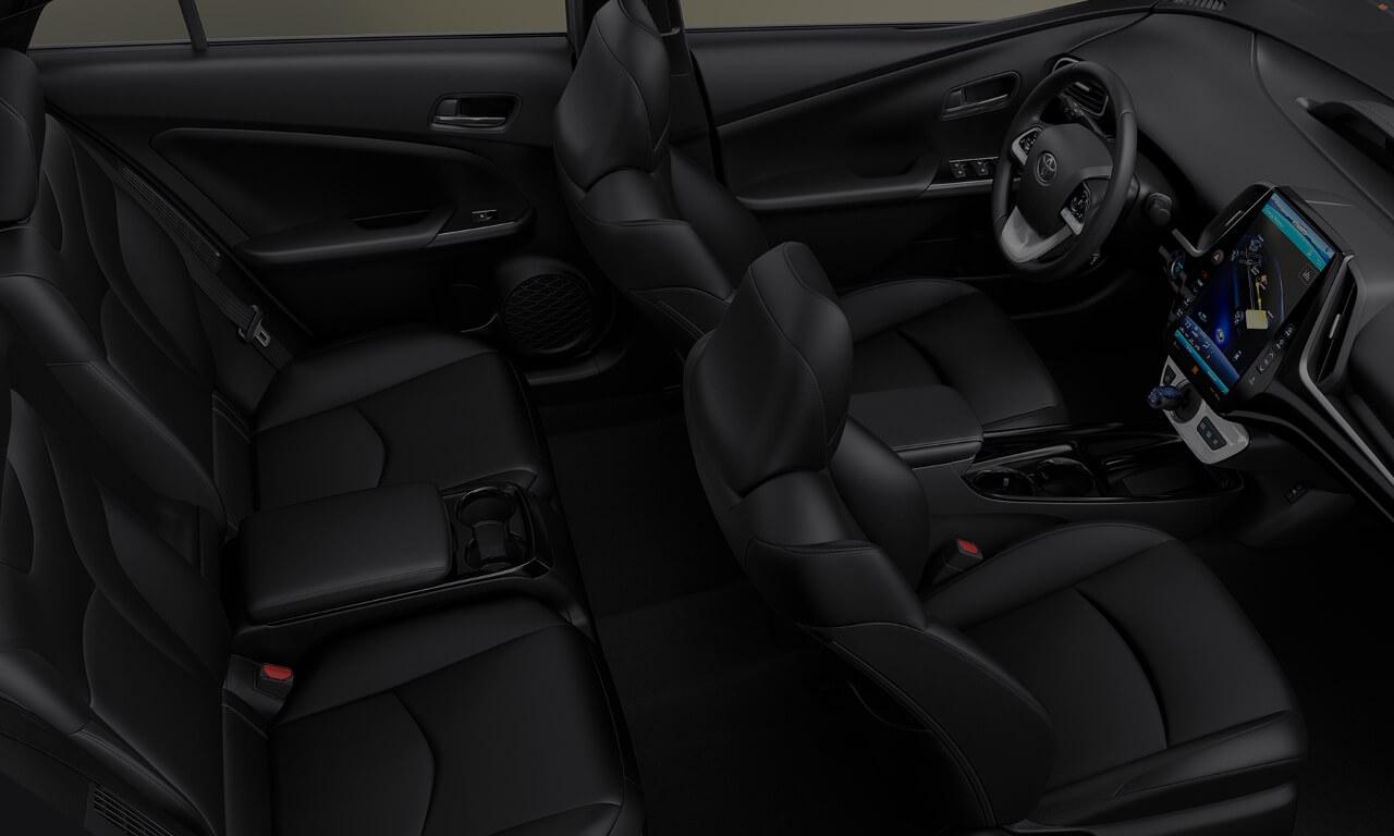 2017 Toyota Prime interior