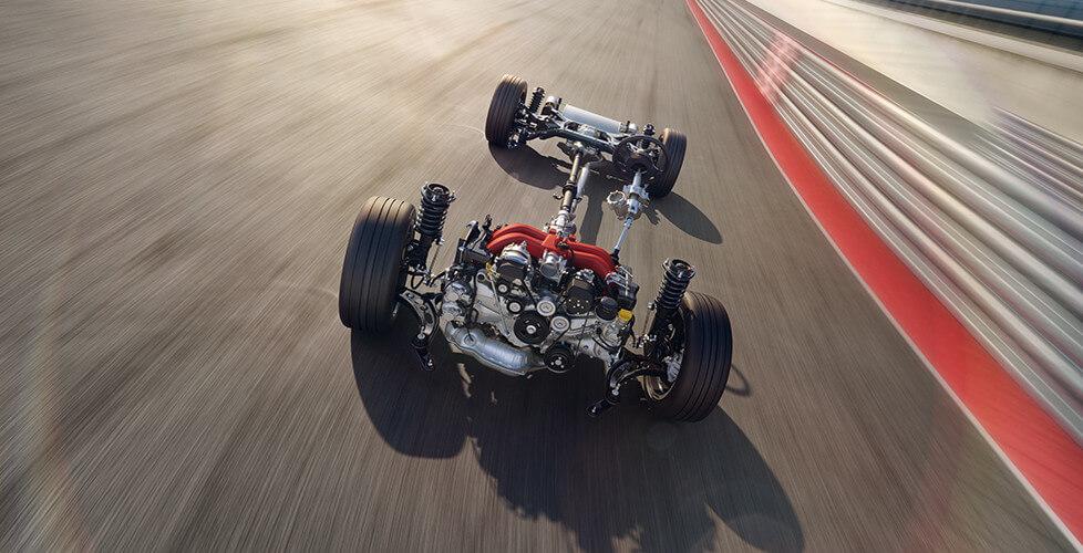2017 Toyota 86 Boxer-Four engine