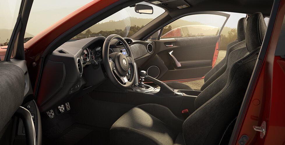 2017 Toyota 86 Inside