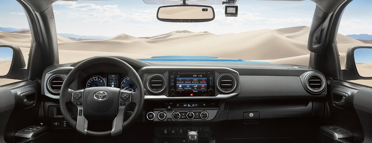 2017 Toyota Tacoma interior dashboard