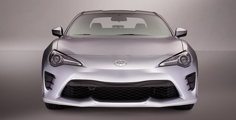 Restyled Front of Toyota 86