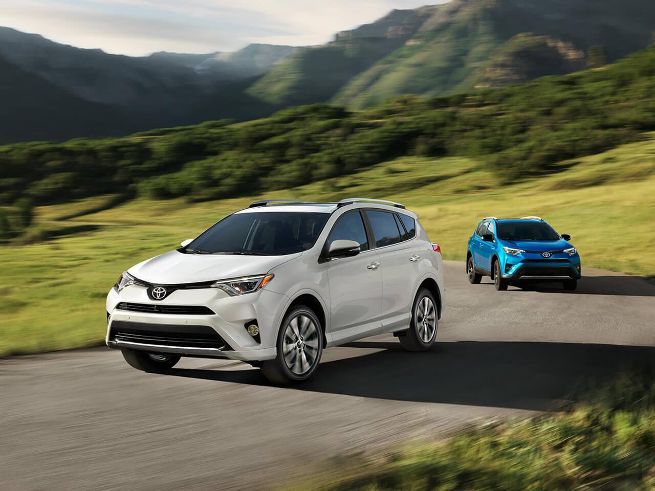 2017 Toyota RAV4 Platinum & Hybrid