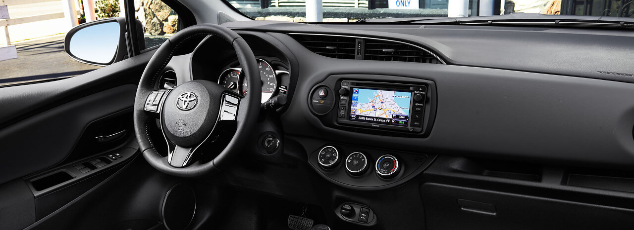 Charming 2017 Toyota Yaris Interior Dashboard