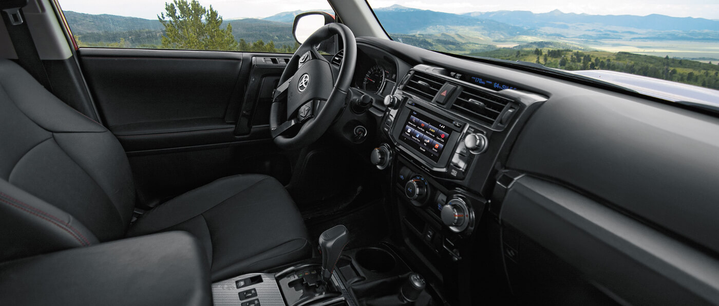 Take A Step Inside The 2017 Toyota 4runner Interior