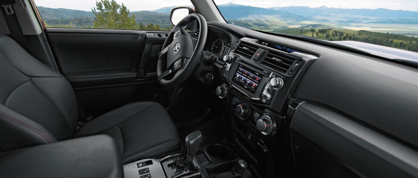 Toyota 4runner Interior Features Inside The Toyota 4runner