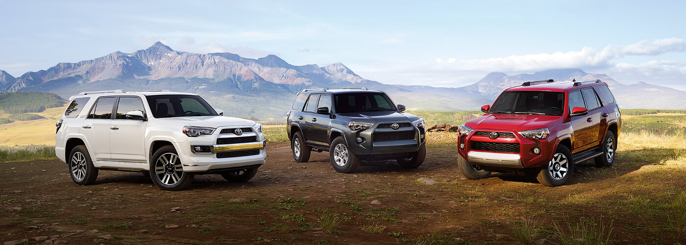 2017 Toyota 4Runner Limited, SR5, and TRD Off-Road
