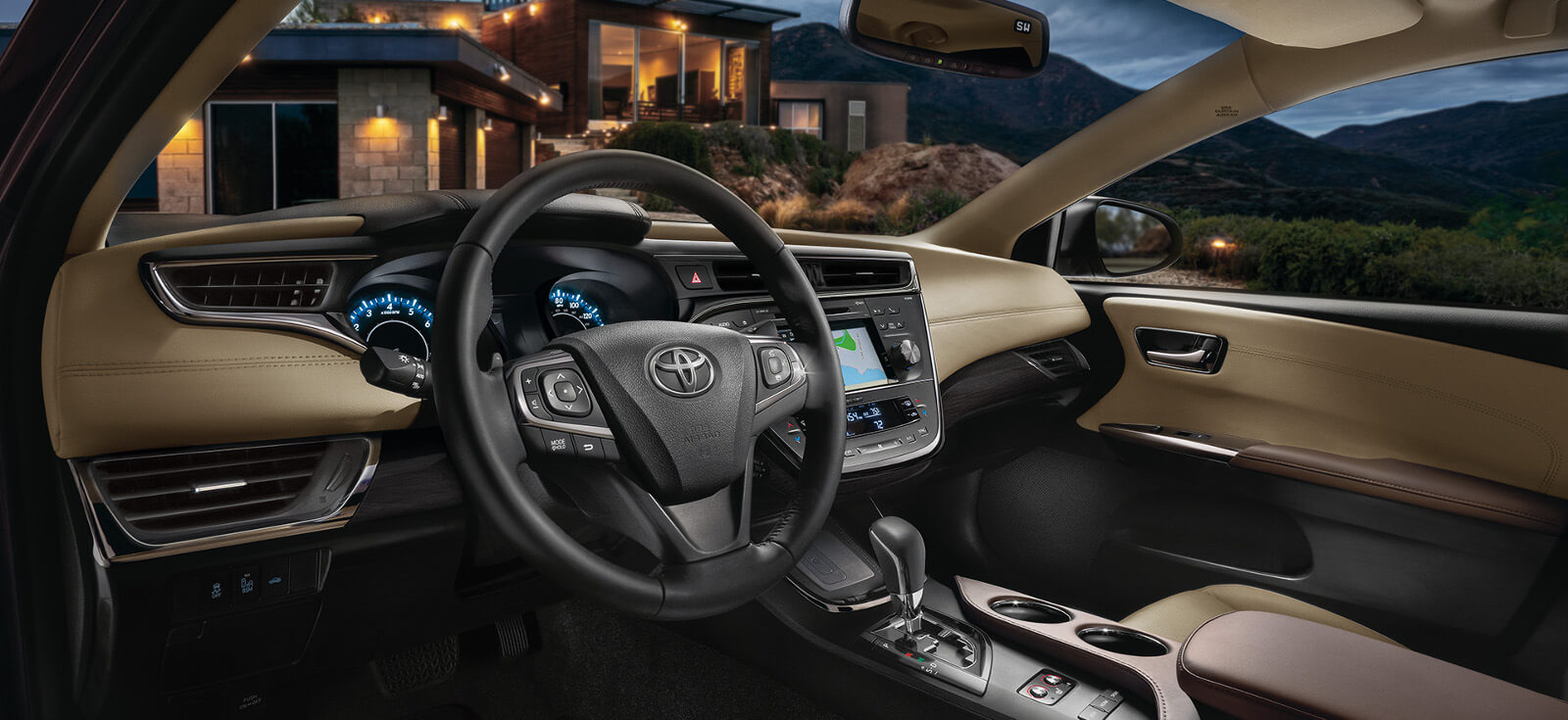 2017 Toyota Avalon Interior Cabin