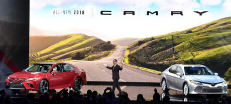NAIAS Toyota Camry Reveal