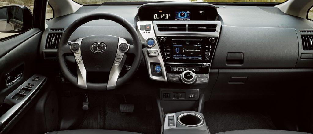 The 2017 Toyota Prius V Interior Toyota Of Naperville