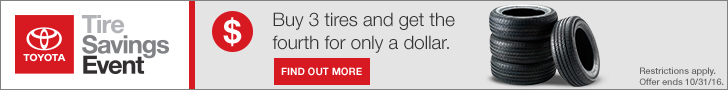 Tire Savings Event 728x90